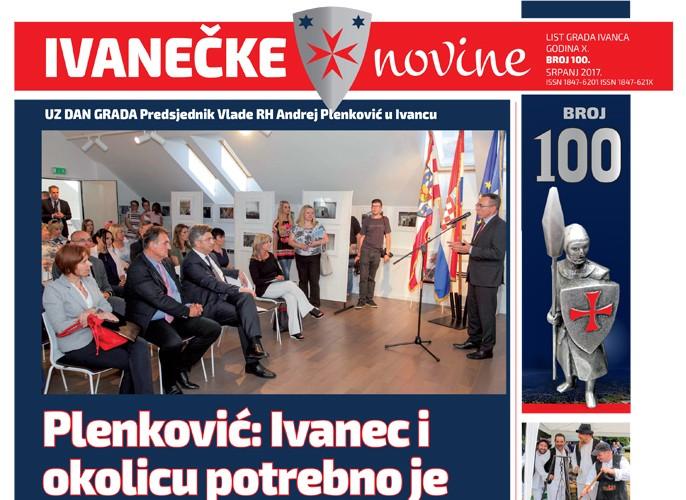 Ivanečke novine, br. 100