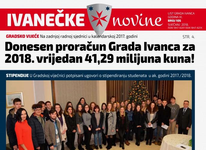 Ivanečke novine, br. 105
