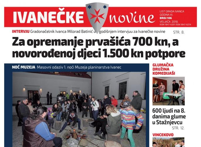Ivanečke novine, br. 106