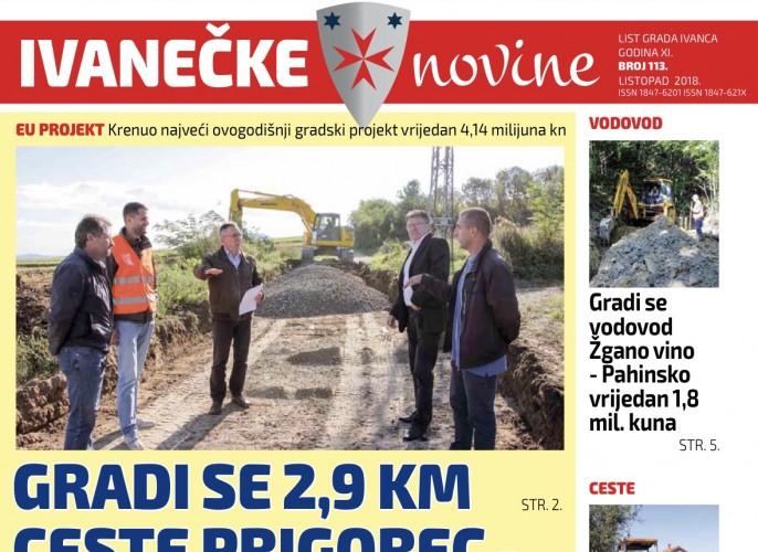 Ivanečke novine, br. 113
