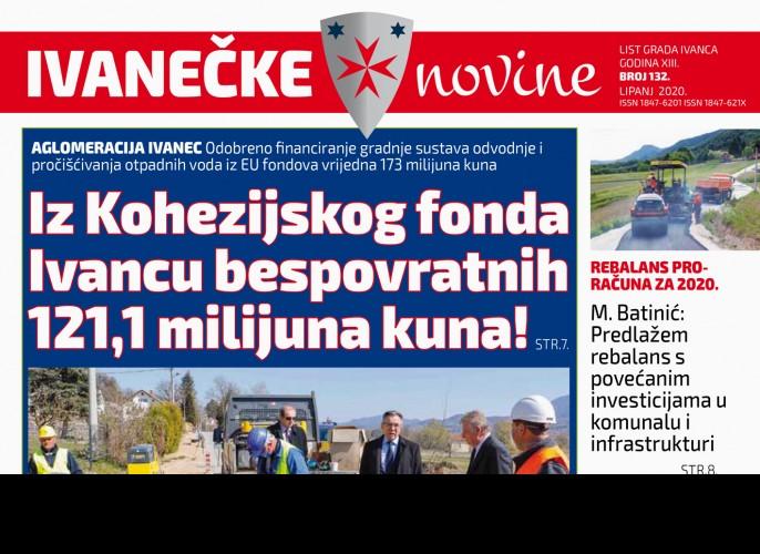 Ivanečke novine br 132.