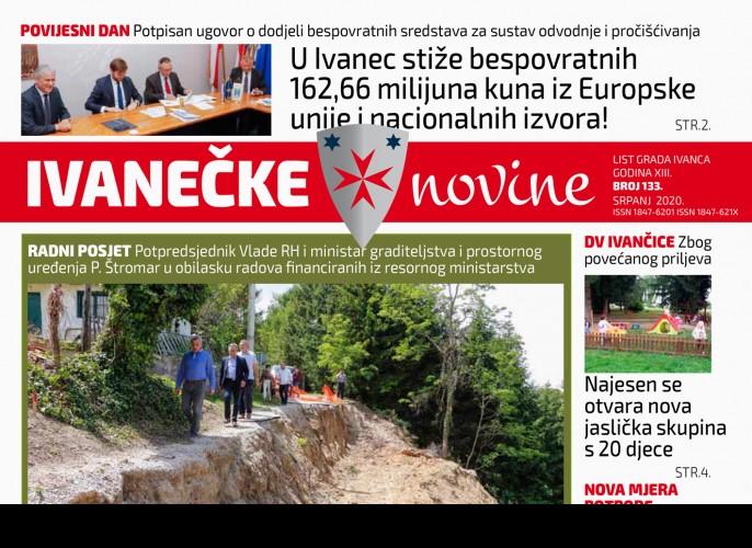 Ivanečke novine br 133.