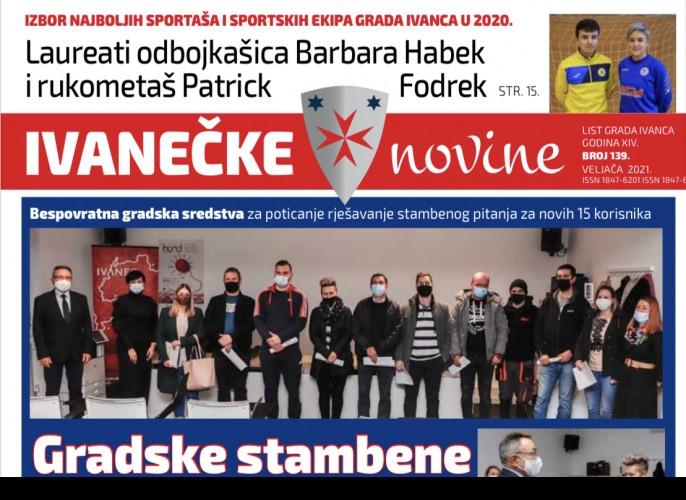 Ivanečke novine br. 139