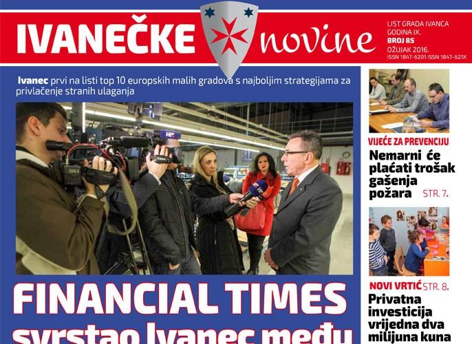 Ivanečke novine, br. 85