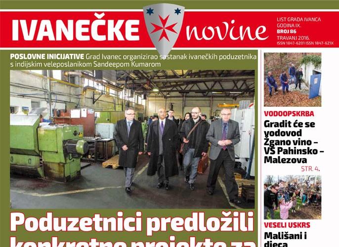 Ivanečke novine, br. 86