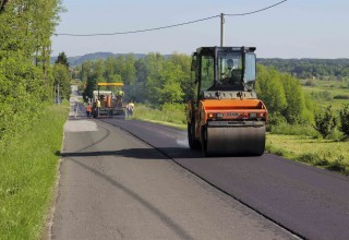 U tijeku asfaltiranje 1.000 metara županijske ceste Horvatsko – rotor Lipovnik