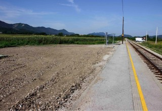 Uređeno parkiralište kod željezničke postaje u Kuljevčici