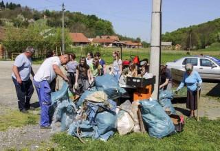 ZELENA ČISTKA IVANEC 2018.  Ivanec najmasovnije radilište u Hrvatskoj, na terenu oko 1.000 volontera