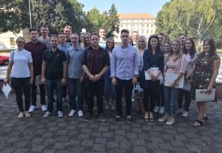 Članovi Savjeta mladih Grada Ivanca na 1. konferenciji županijskog Savjeta mladih