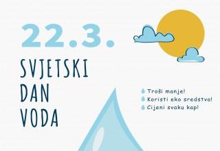 EU PROJEKT Tematski plakati i uređenje izvorišta Žgano vino u povodu 22. 03., Svjetskog dana voda