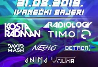 U subotu, 31. 08., Xmusic festival – koncert elektroničke glazbe u organizaciji Kluba mladih Ivanec