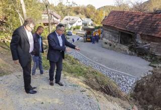 Gradonačelnik M. Batinić s gradskim stručnim službama u Margečanu, Lukavcu, Gačicama, Prigorcu i Željeznici