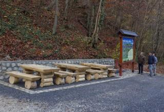 TURISTIČKI MEDALJON Na Žganom vinu uređeno odmorište za planinare i izletnike