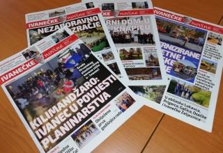 Poziv građanima za obavljanje usluge raznošenja gradskog glasila Ivanečke novine