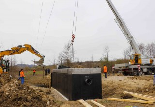 U tijeku montaža pročistača za otpadne vode iz kanalizacijskog sustava Bedenec vrijednog 1,17 mil. kuna