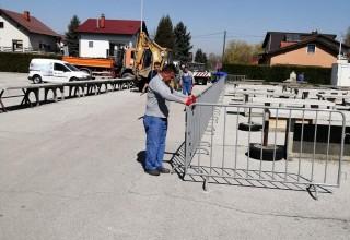 IVKOM d.d. U tijeku pripreme za otvaranje gradske tržnice Ivanec u četvrtak, 9. travnja