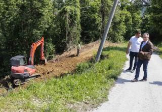 GRAD IVANEC Počela sanacija dvaju klizišta u Prigorcu, radovi vrijedni blizu 700.000 kuna
