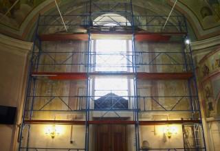 Završena prva faza obnove baroknih fresaka na južnom zidu ivanečke crkve sv. Marije Magdalene