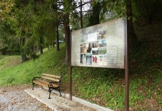 OPREMANJE TURISTIČKIH LOKALITETA Postavljene nove ploče i klupe na Sv. Duhu i na Gradišču u Margečanu