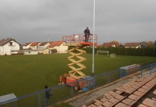 Uz 150.000 kuna potpore Grada Ivanca nogometni stadion dobio suvremenu LED rasvjetu