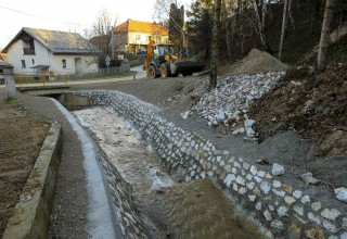 VODOTEHNIČKI RADOVI Bistrica pri kraju, potoci Seljanec i Brežnjak dovršeni