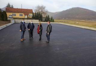 MARGEČAN Na novo igralište položen asfalt, ove godine radovi na gradnji trga