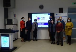 """SREDNJA ŠKOLA IVANEC  EU projektom """"MathReality"""" zainteresirali učenike za matematiku"""