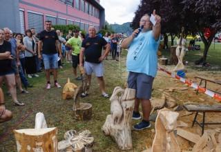 Održan 6. hrvatski festival kiparenja motornom pilom u Salinovcu