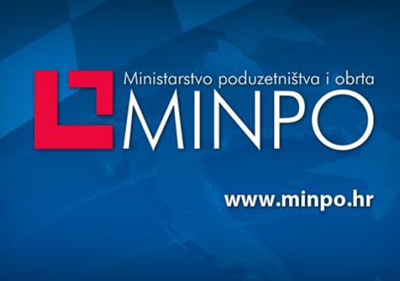 """Javni poziv Ministarstva poduzetništva i obrta """"Inovacije novoosnovanih malih i srednjih poduzeća"""""""