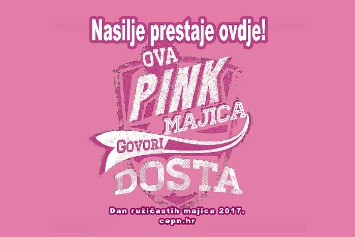 Dan ružičastih majica na ivanečkoj špici u srijedu, 22. veljače
