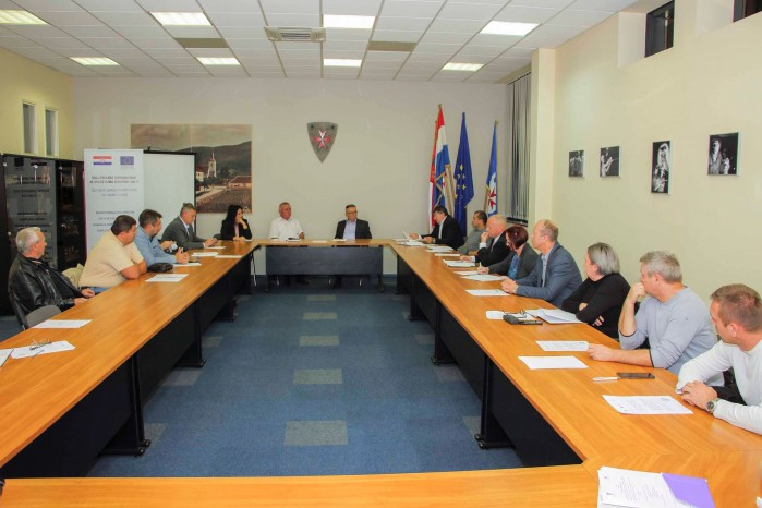 Gradonačelnik M. Batinić održao sastanak s poduzetnicima s područja grada Ivanca