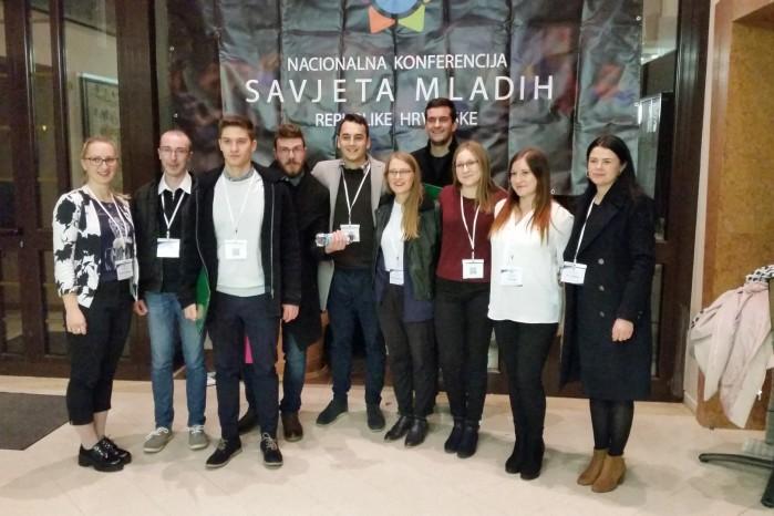 Savjet mladih Grada Ivanca na Nacionalnoj konferenciji Savjeta mladih Hrvatske