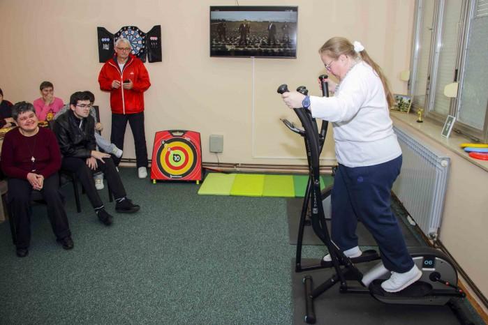 Članovi Ivanečkog sunca dobili malu sportsku dvoranu opremljenu spravama i rekvizitima za vježbu