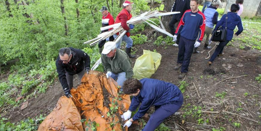 Masovni odaziv Zelenoj čistki  – 1.000 volontera uklanjalo otpad i uređivalo zelene površine