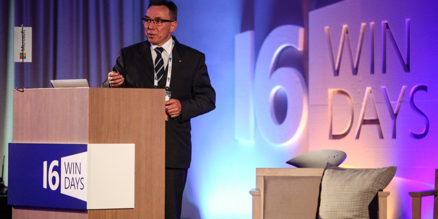 Gradonačelnik Batinić na Microsoft Windays 16 Business konferenciji u Poreču predstavio ivanečke strategije