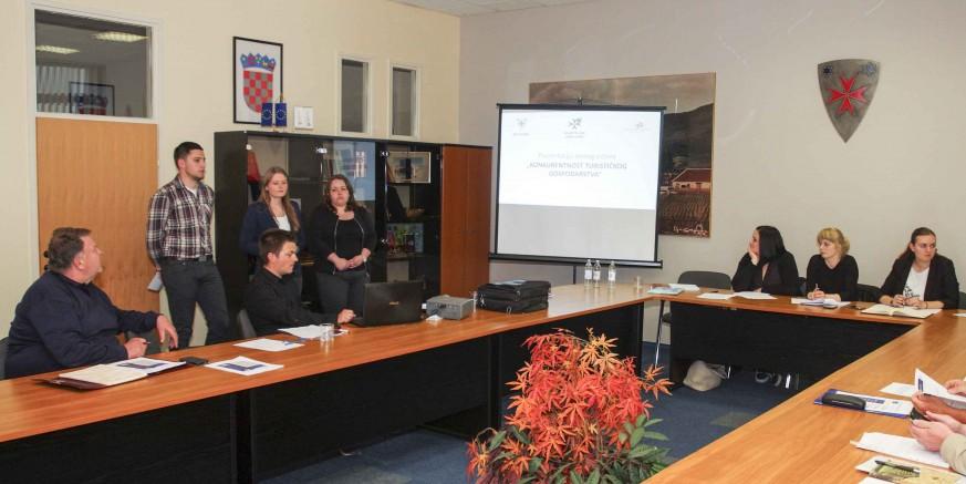 Projektni ured prezentirao natječaj Ministarstva turizma za dodjelu bespovratnih sredstava