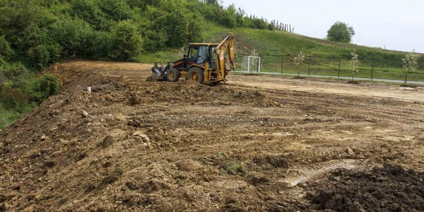 U suradnji Grada Ivanca i Ivkoma uređen teren kod sportskog igrališta u Gačicama