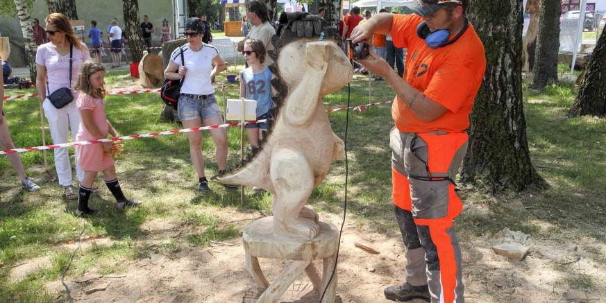 2. hrvatski festival kiparenja motornom pilom – Salinovec, 4. i 5. lipnja