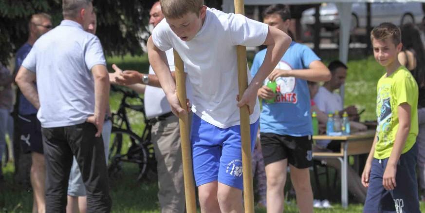 Održane su  2. dječje seoske igre u Salinovcu