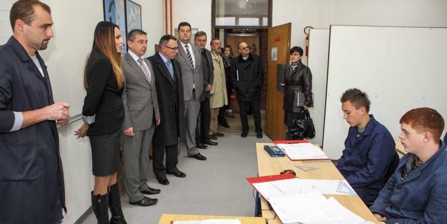 Nova zanimanja u Srednjoj školi Ivanec: Uređen praktikum za obrazovanje budućih kućnih majstora