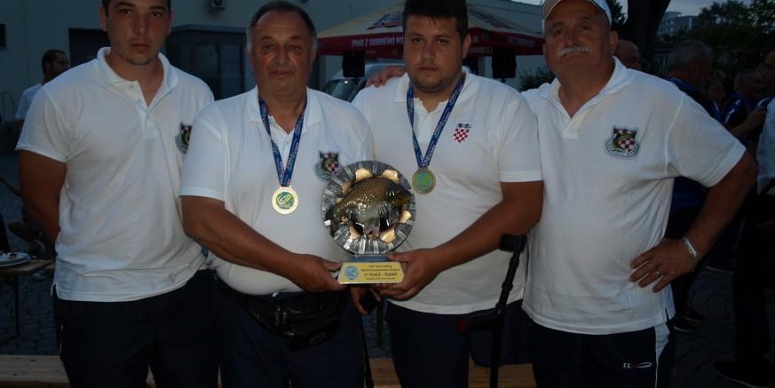 Svjetsko zlato u Češkoj: Ivančanin Nikola Geček u sastavu zlatne hrvatske reprezentacije