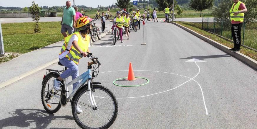 Proveden prvi dio projekta edukacije biciklista za bolju uočljivost u cestovnom prometu