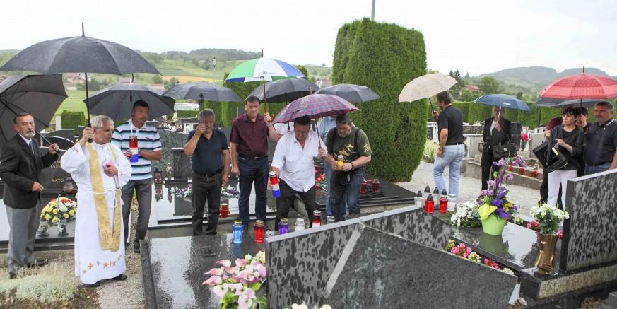 Obilježena je godišnjica pogibije branitelja Željka Biškupa