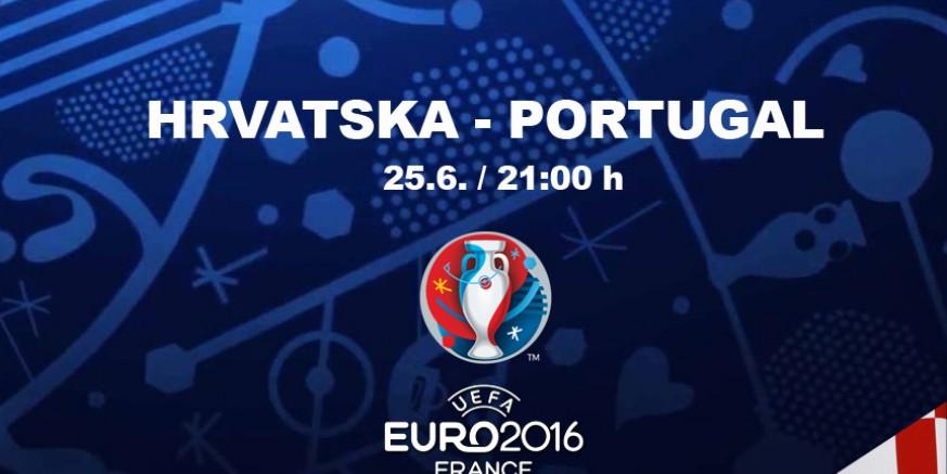 Zbog utakmice Hrvatska - Portugal pomiču se termini manifestacija uz Dan grada; na trgu veliki ekran – navijajmo zajedno!