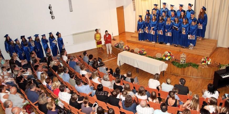 Svečana podjela svjedodžbi ivanečkim maturantima