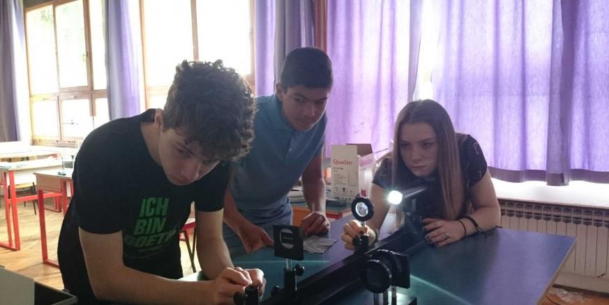 Nove kompetencije za gimnazijalce iz Ivanca i Labina slijedom EU projekta – Heureka – spoznajom do uspjeha