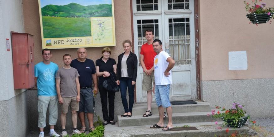 HPD Ivančica obnovio kartu planine Ivančice na Željezničkoj postaji Ivanec