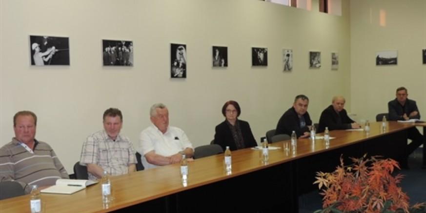 Radni sastanak gradonačelnika s poduzetnicima
