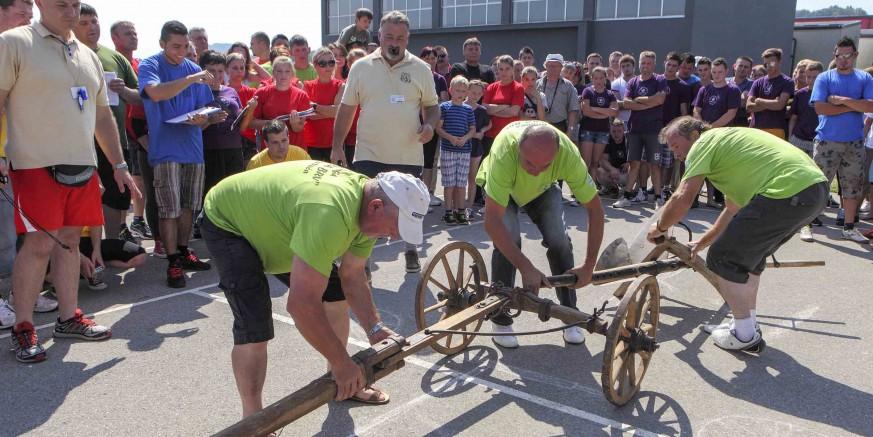 U nedjelju 32. seoske igre starih sportova u Salinovcu – sudjelovanje potvrdilo 12 ekipa s 500 natjecatelja