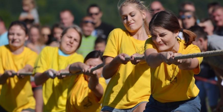 32. seoske igre starih sportova u Salinovcu